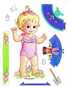 ,baby thataway paperdoll - I had this one.  :o)