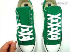 How to tie your shoelace converse - YouTube  c936c4a06