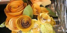 Tutoriál na rolované kvety z papiera