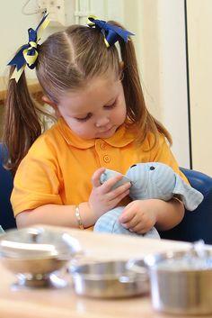 Encouraging empathy through imaginative play