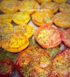 End of Season Roasted Tomatoes - only 1PP!
