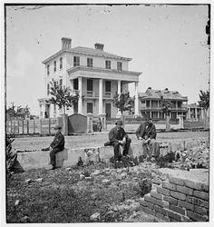 Charleston, South Carolina. O'Connor house (180 Broad Street), where Federal officers were confined under fire during the civil war.