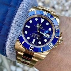 Monday SUBMARINER Ref 116618 LB | http://ift.tt/2cBdL3X shares Rolex Watches collection #Get #men #rolex #watches #fashion