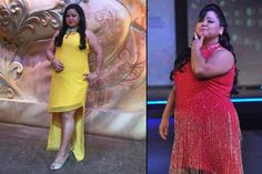 The name Bharti Singh needs no introduction. And it's not just her outstanding comic presence on-screen we love her for, but we admire her for her amazing fashion sense too. She's got an amazing style, which makes her a fashion idol of many plus- Bharti Singh, Indian Bridal Fashion, Fashion Idol, Stylish Plus, Indian Designer Wear, Dressing Room, Indian Wear, Bridal Style, Stylish Outfits