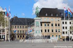 Luxembourg, Willian Square http://ideiasnamala.com/2013/07/11/roteiro-de-um-dia-em-luxemburgo/