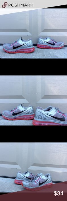Nike Shoe Size 8 Women's Air Max Shox FlyKnit Nike Air Max Running shoe in women's size 8. 10/10 condition. No flaws or imperfections. Nike Shoes Athletic Shoes