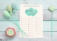 free printable baby shower game free design