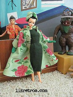 Liz Retros for vintage fashion, handmade collectibles and furnishings for your fashion doll