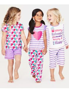 Ladybird Girls Pyjamas (6 piece set) | Very.co.uk