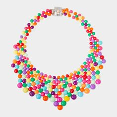Mariana Diaz 'Audrey' necklace from MOMA - this would be so much fun with black T and jeans. Or with a suit...