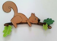 Window Picture Squirrel at Work Autumn Decoration Clay Cardboard! Class Decoration, Kids Room Design, Drawing Lessons, Woodland Creatures, Woodland Party, Silhouette Design, Diy Paper, Cool Drawings, Squirrel