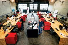 Open-Concept Office Keeps Creatives Fired Up | BC Business Great office design!