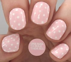 Simple Pink Polka Dots
