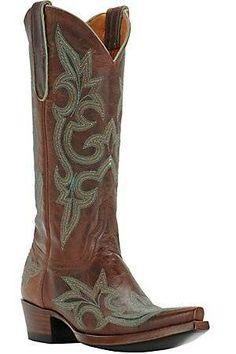 32cbdf9852f9  Old Gringo® Ladies Diego in Rust  amp  Blue Snip Toe Western Boots  Cavenders