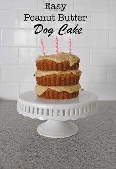 dog cake / dog cake recipe & dog cake & dog cake recipe easy & dog cakes for dogs & dog cakes for kids & dog cake recipe peanut butter & dog cake recipe easy peanut butter & dog cake easy Birthday Cake Cookies, Birthday Cakes For Men, Easy Birthday Cake Recipes, Dog Cake Recipes, Dog Treat Recipes, Dog Food Recipes, Easy Recipe For Dog Cake, Dog Biscuit Recipes, Homemade Birthday