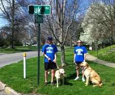 Go Cats! Duke road in Lexington no more haha