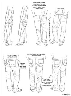 Hands in Pockets by ~DerSketchie on deviantART