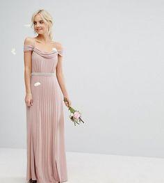 TFNC Petite Wedding Cold Shoulder Embellished Maxi Dress. Asos Bridesmaid Short Lace Bridesmaid DressesWedding BridesmaidsSparkly ... 8c42dfeaf