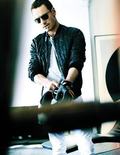 Michael Fassbender by Mario Testino... Ahhh I love him!