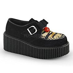 Demonia DEMONIA womens CREEPER-213/BVS-TPFR oxfords-shoes