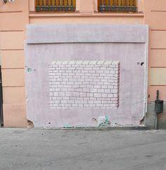 Escif 'Wall in a Wall'