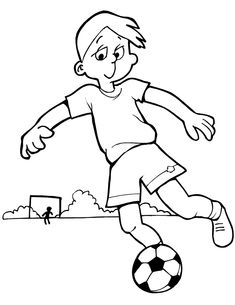 Free Sports Coloring Pages