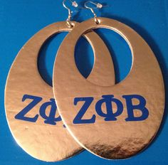 Zeta Phi Beta Z Phi B 1920 Earrings for by AddiCakeCreations, $6.75