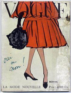 Rene Bouche, 1953. Vogue Paris