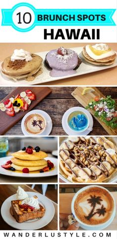 10 Best Brunch Spots in Hawaii! | Wanderlustyle.com