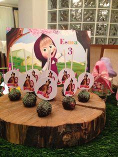 Masha and the bear birthday party esma 3