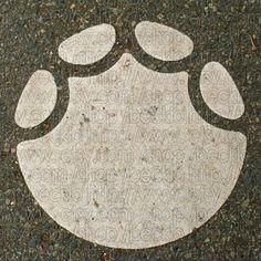 elephant footprints at the zoo! Elephant Footprint, Footprint Tattoo, Animal Footprints, Elephant Crafts, Bamboo Tattoo, Painted Rocks Craft, Animal Activities, Elephant Love, Pattern Art