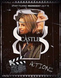 @CastlePromos This's a special #castleseason8poster. Dedicated to the first day of shooting.