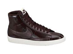 nike énoncé de mission athlète - Cheap 371759 406 Nike Blazer low leather blue white women shoes ...