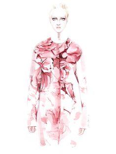 Giambattista Valli -  fashion illustration