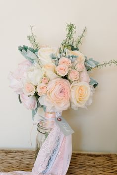 Photography: Michelle Lange - loveandbemarried.com  Read More: http://www.stylemepretty.com/2014/08/14/romantic-pastel-military-wedding/