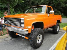 1983 Chevy K5 Blazer, via Flickr.