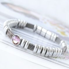 Trendy bracelets with DQ leather can be made easily with our handy findings and trendy DQ metal sliders!