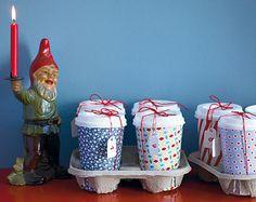 Kaffeebecher werden zum Adventskalender - Adventskalender basteln 1