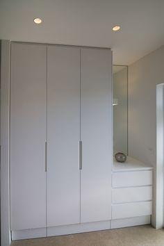 Ikea Pax Wardrobe, Wardrobe Handles, Wardrobe Room, Wardrobe Design Bedroom, Built In Wardrobe, Closet Bedroom, Home Bedroom, Bedroom Decor, Bedroom Cupboard Designs