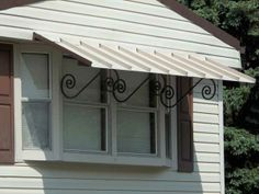 Awning For Residential Front Door | Reducing The Weathering Of Your  Exterior Doors Door Frames And