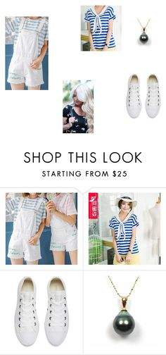 """""""Kawaii 4"""" by marina-beppler on Polyvore featuring Converse and INDIE HAIR"""