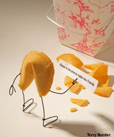 """Funny """"bent objects"""" by Terry Border - Chicquero - fortune cookie"""