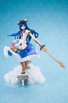 This striking statue features Tenshi Hinanawi, the final boss from the doujin game *Scarlet Weather Rhapsody* which is part of the much loved *Touhou Project* from Team Shanghai Alice. Tenshi means angel in Japanese, and ...