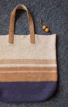 Sierra Bag Knitting pattern by anna ravenscroft   Knitting Patterns   LoveKnitting