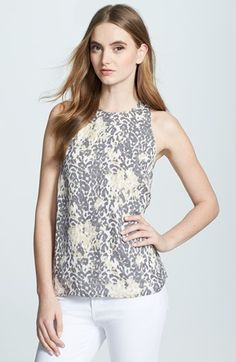 Joie 'Brighton' Print Silk Top available at #Nordstrom