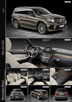 European premium SUV segment: The new Mercedes-Benz GLS sets new standards in the world of the SUV Mercedes Benz Gl, Best Luxury Cars, Luxury Suv, Benz S550, Carl Benz, Automobile, Lux Cars, Maybach, Dream Cars
