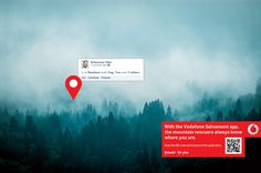 Vodafone Salvamont App: Sebastian #ad #print