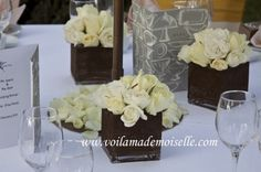 Lonepine Penang beach wedding centerpiece 3