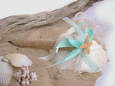 Wedding Guest Book Pen, Beach Wedding,Aqua, Teal, Starfish, Destination Wedding, Natural, Burlap, Wedding Guest Book, White, Beach Decor on Etsy, $13.50