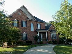 This home is immaculate and it went under contract after only 12 days on the market!!! 4701 Pebble Lake Drive, Pfafftown, NC  27040 - Pinned from www.coldwellbanker.com